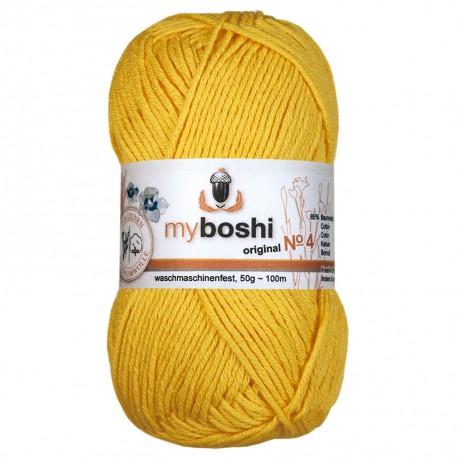 myboshi Wolle No. 4, 413 - löwenzahn_8684