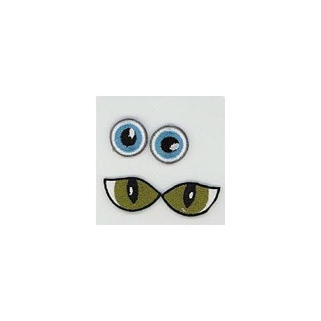 Eye see you - pronty, motif Eyes - 3 (2 pairs)_890