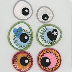 Eye see you - pronty, motif Eyes - 2