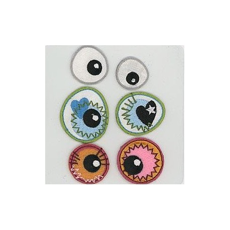 Eye see you - pronty, motif Eyes - 2_893