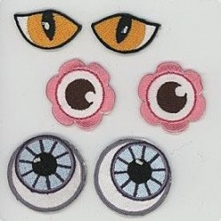 Eye see you - pronty, motif Eyes - 1