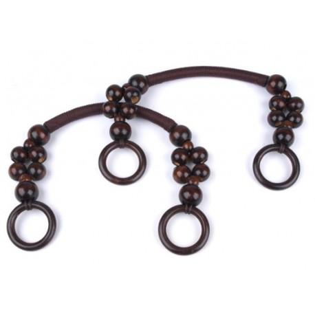 Taschengriff mit Perlen und Ringen _902