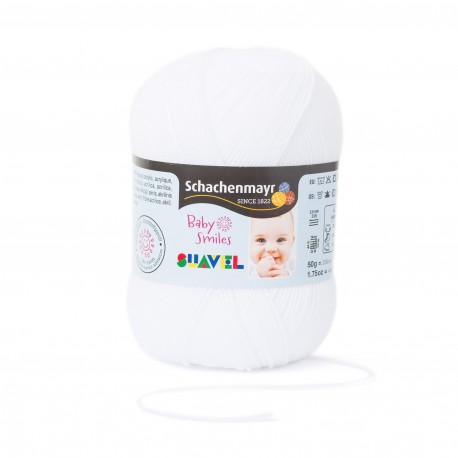 Baby Smiles Suavel - Schachenmayr, 01001 - weiss_9045