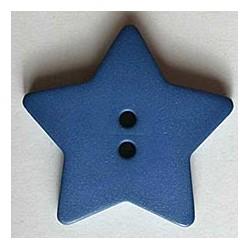 Kinderknopf Stern - Dill (1 Stk.) 15 mm