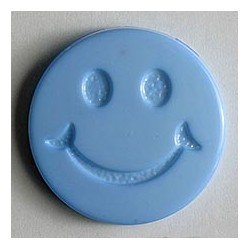 Kinderknopf Smiles  - Dill (1 Stk.) 15 mm