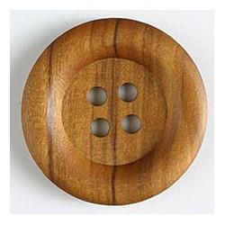 Holzknopf braun - Dill 23 mm