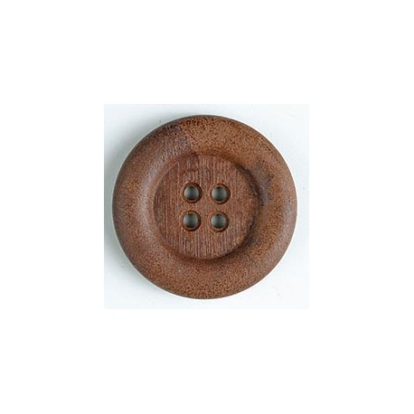 Polyamidknopf braun - Dill 23 mm_9346