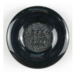Polyamidknopf schwarz, 23 mm - Dill