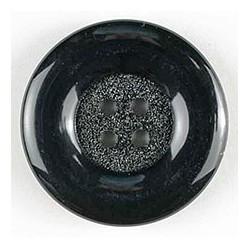 Polyamidknopf schwarz - Dill 23 mm