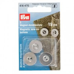 Magnet Annähknöpfe 19 mm - Prym_9424