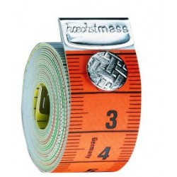 Massband mit Druckknopf
